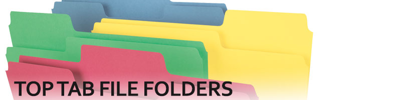 Top Tab File Folders